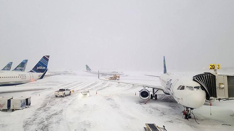Resultado de imagen para tormenta invernal Grayson en Nueva York