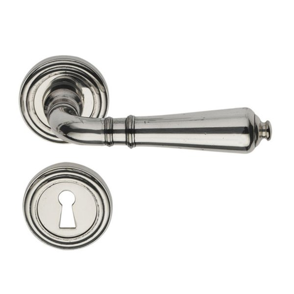 Handle on rose antique silver mod-800 classique-2