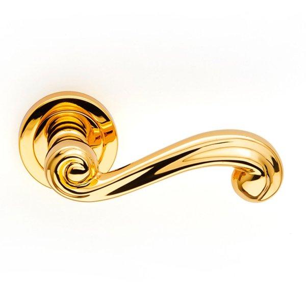 Maniglia su rosetta in oro 24kt Sirio Classique