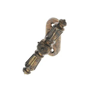 Window handle antique brown brass patrizio classique