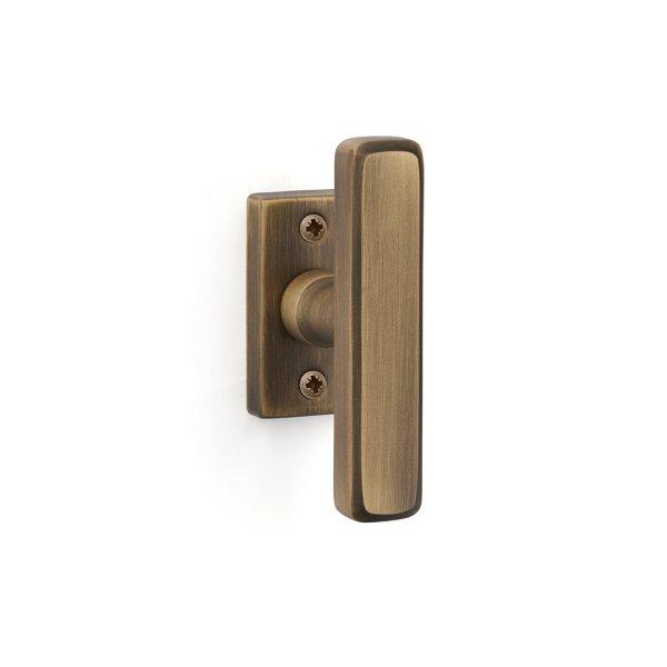Window handle yester bronze brass corolla classique