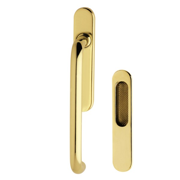 Pull handle polished brass Anta Ribalta Fashion