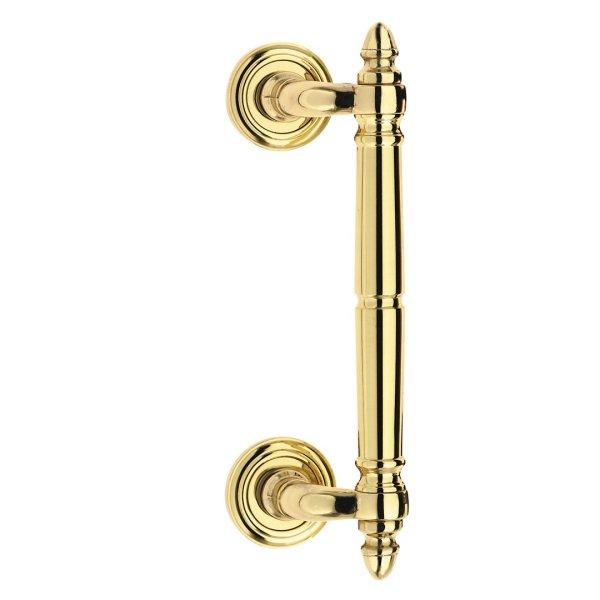 Pull handle polish brass zancato classique