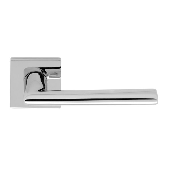Handle on rose chrome bellagio i-design