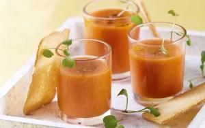 receta de Gazpacho en thermomix