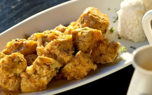 Receta de Pechuga adobada de pollo en salsa de cebollas en Thermomix
