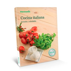 Libro de cocina - Cocina italiana variada y saludable - Thermomix Colombia