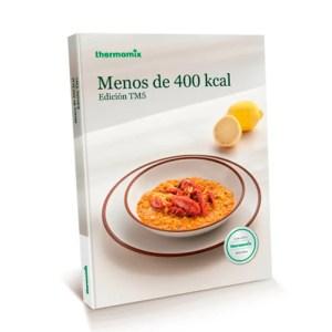 Libro de cocina - menos de 400 Kcal Thermomix Colombia