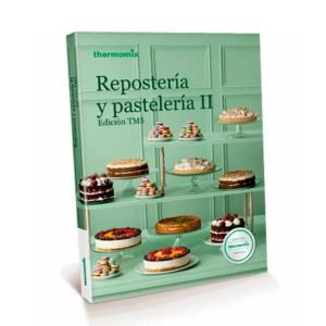 Libro de cocina repostería y pastelería 2 Thermomix Colombia