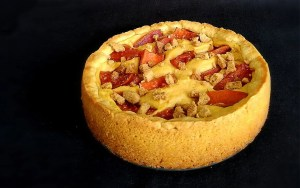 Tarta Campesina de frutas (Rusia) preparada en Thermomix