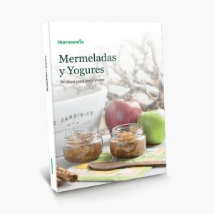libro de cocina MERMELADAS Y YOGURES thermomix 2da edicion