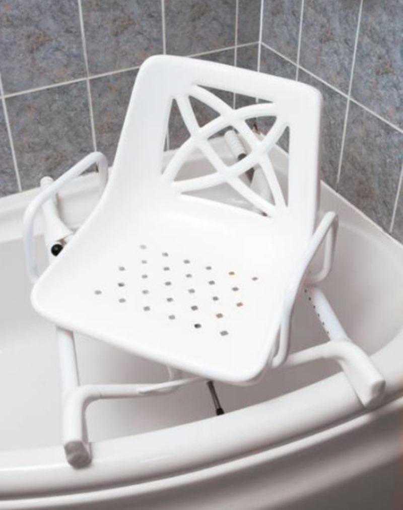 siege de bain pivotant pour baignoire d angle