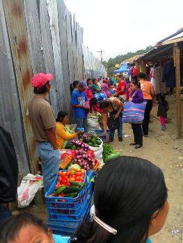 Vendedoras indígenas
