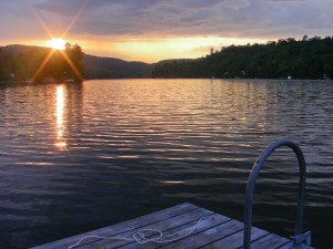 Joy and gratitude for an Outouais Sunset