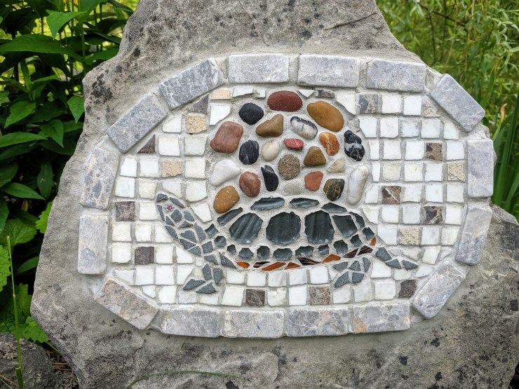 My Turtle Mosaic (detail)