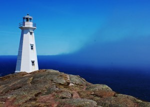 Lighthouse - shining a light at the edge of the world (Cape Spear)