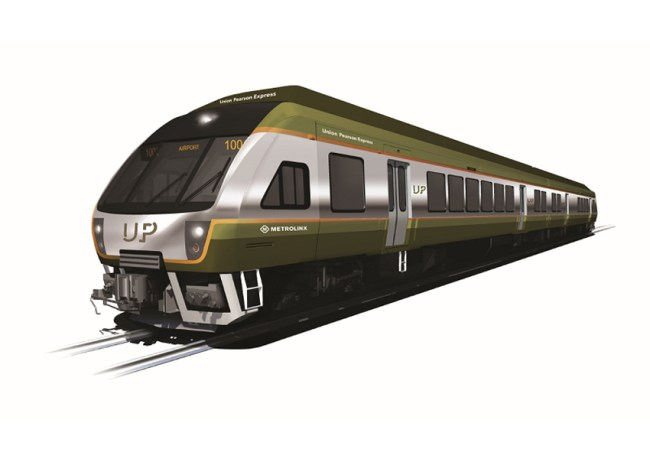 novo trem toronto