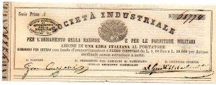 1860Soc. per L'Armamento della Nazione Preside Garibaldi