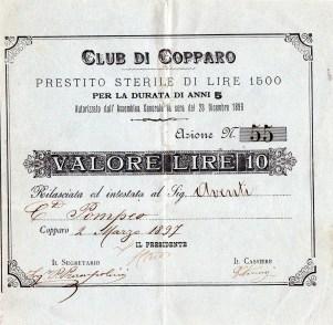 1896Club di Copparo  Ferrara
