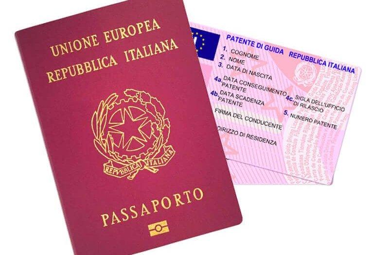 Spedizione Passaporto