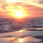 Another fiery sunset in Destin, FL.