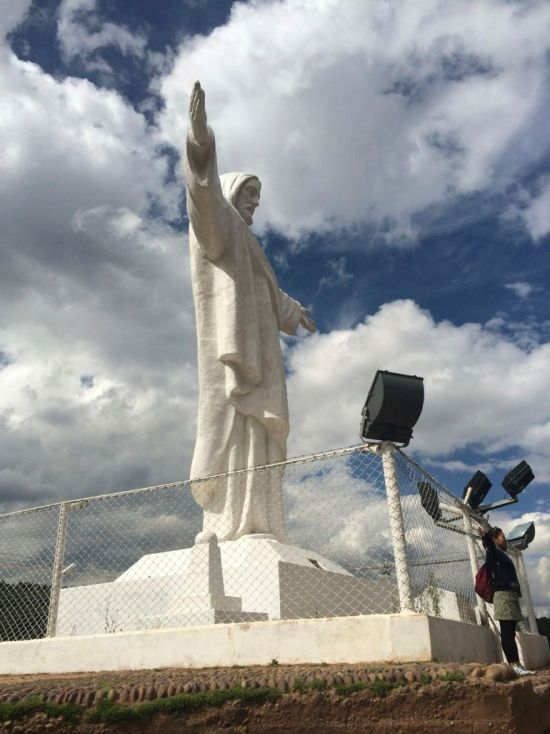 white christ cusco