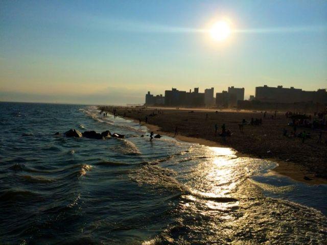Coney Island sunset