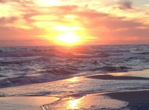 The perfect sunset in Destin, FL.