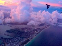 Bienvenido a Miami! (as seen from my plane)