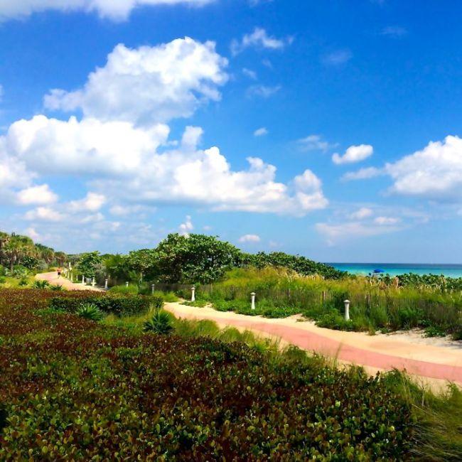 North Beach Miami Boardwalk
