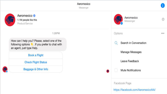 Aeromexico to expand use of its Aerobot chatbot