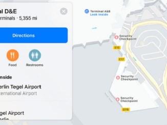 Apple indoor maps - Berlin