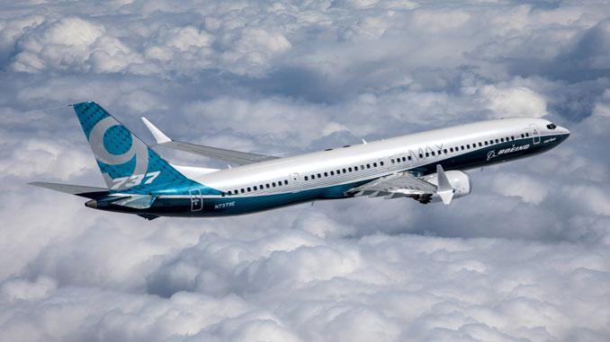 Boeing 737 MAX 9 first flight
