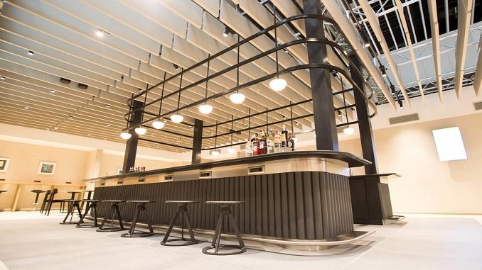 British Airways Lounge - Rome Fiumicino bar