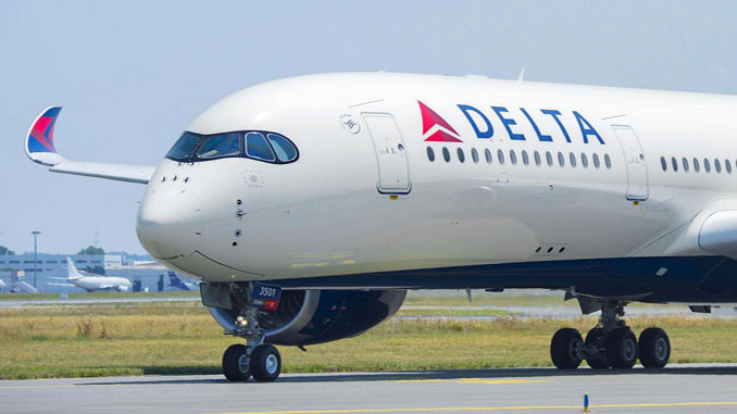 Airbus delivers Delta's first A350-900