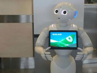EVA introduces customer service robots at Taipei airports