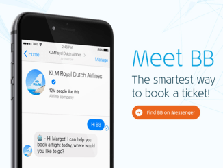 KLM BB chatbot
