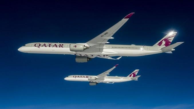 Qatar Airways 1st A350-1000