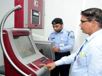 Biometric enrolment machines unveiled in Qatar airport