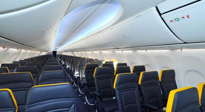 Ryanair New 737s To Have Boeing Sky Interiors Passenger