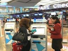 Changi T2 starts self tagging and bag drop at Terminal 2