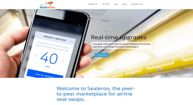 Seateroo launches app for seat swaps