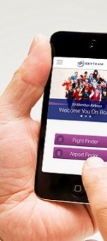 SkyTeam adds airport maps to its mobile app