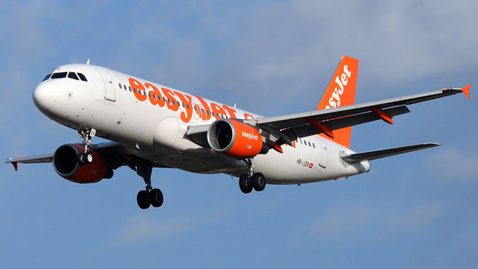 easyJet offers hand baggage check-in for a price