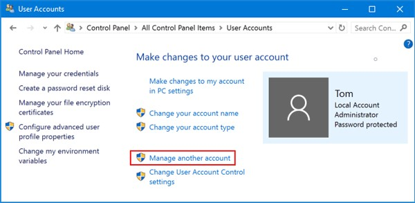 How to reset Laptop password with super admin