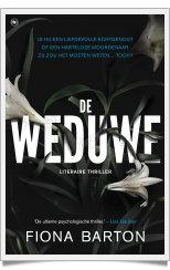 De weduwe-framed