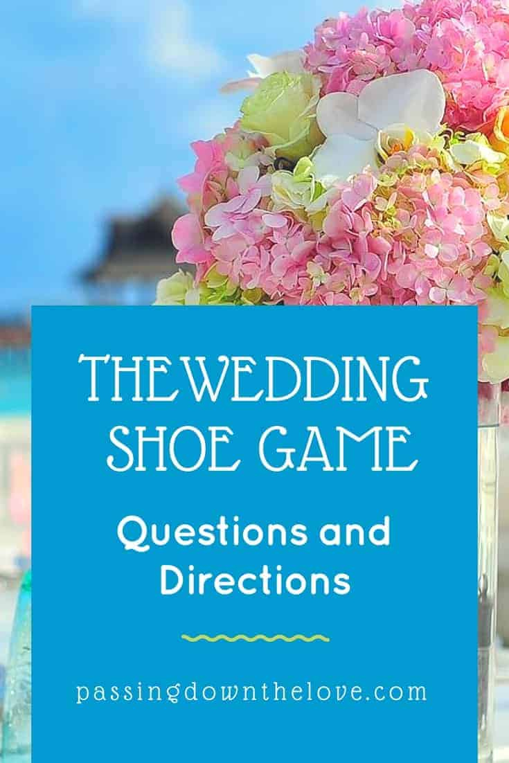 Looking for something to do at your rehearsal dinner?  Here's an idea - FREE Instructions and questions to ask for a