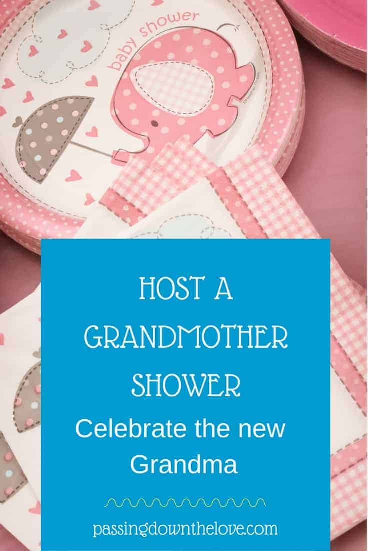 Host a Grandmother shower for the new grandma.  Here are some ideas for a baby shower for the grandma-to-be.  Celebrate the new grandmother.