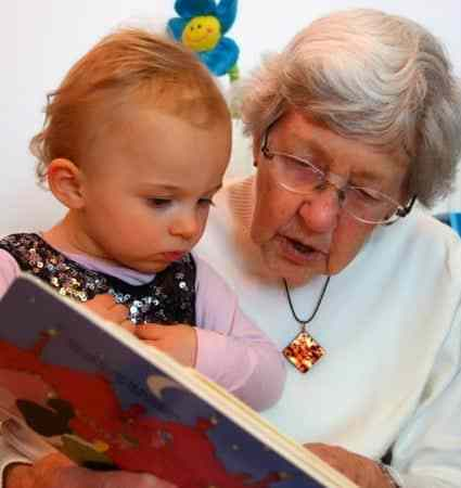 Pass Down the Love of Reading to Your Grandkids