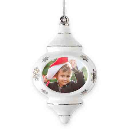 Gift for new Grandma personalized Christmas ornament